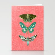 Lepidoptery No. 5 By And… Stationery Cards