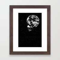 Midnight Moon Framed Art Print