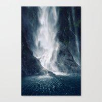 Bowen Falls 1 Canvas Print