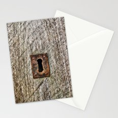 The Old Door Lock Stationery Cards