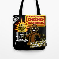 Gr'Ate Jawa Droid Repair… Tote Bag