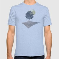 The Rock of Humanity Mens Fitted Tee Athletic Blue SMALL