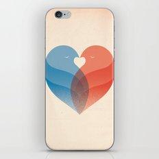 Lovebirds iPhone & iPod Skin