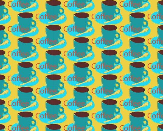 I love coffee! Canvas Print
