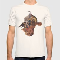 Blind Exodus Mens Fitted Tee Natural SMALL
