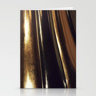 Metalstripes Stationery Cards
