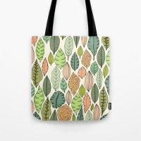 Leaf Fall Tote Bag