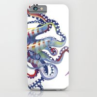 iPhone & iPod Case featuring Sea Monster by Sam Nagel