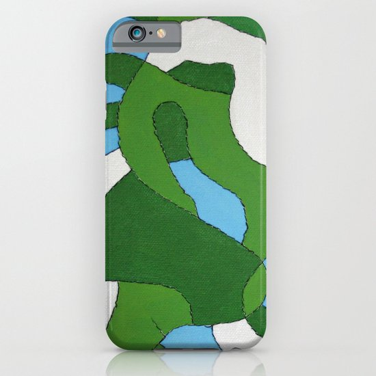Green Map iPhone & iPod Case