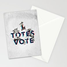 I Totes Vote Stationery Cards