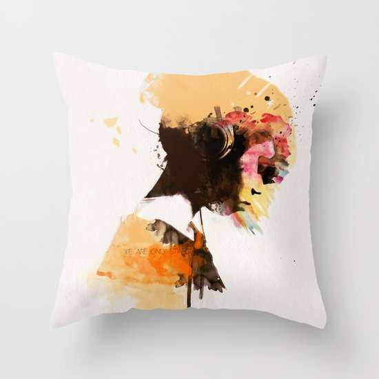 Stardust* Throw Pillow