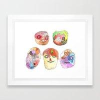 Mokoyombiz Framed Art Print