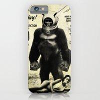 iPhone & iPod Case featuring Robot Monster by alex lodermeier