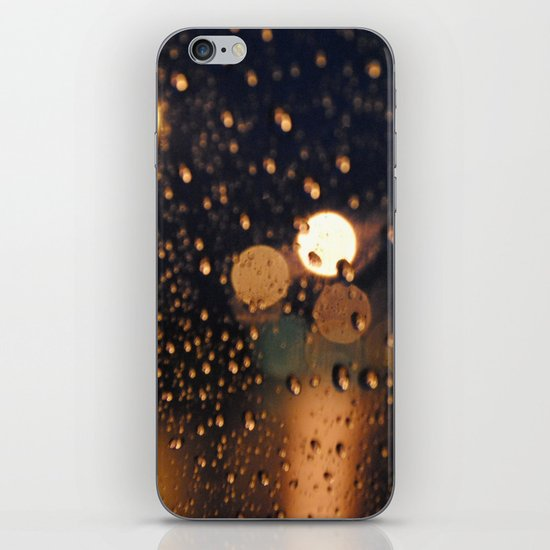 rain bokeh iPhone & iPod Skin