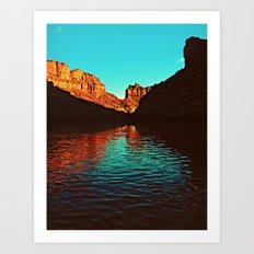 Deep Reflections Art Print