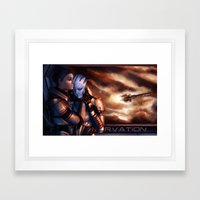 Mass Effect - Memories Framed Art Print