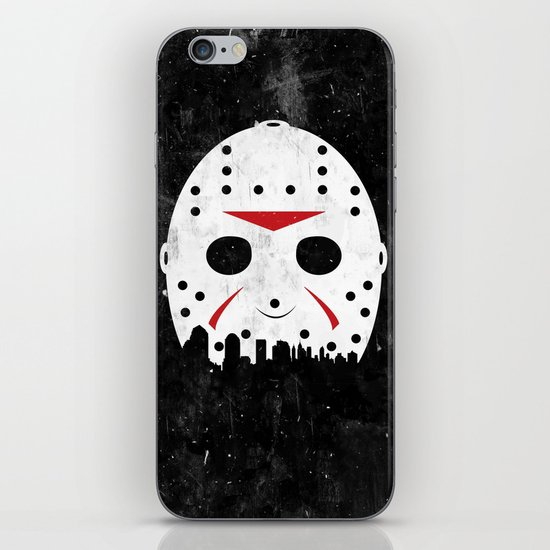 Friday The 13th Part VIII iPhone & iPod Skin