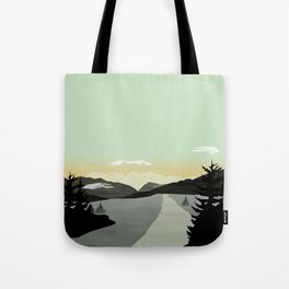 Tote Bag - Misty Mountain II - Schwebewesen • Romina Lutz