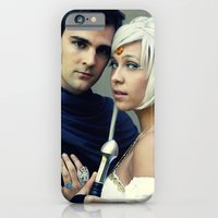 Sailor Moon - Prince Endymion and Princess Serenity iPhone 6 Slim Case