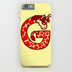 G is for Giraffe iPhone 6s Slim Case