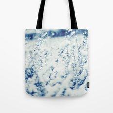 Blue Winter Tote Bag