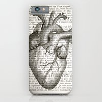 Anatomical Heart on French iPhone 6 Slim Case