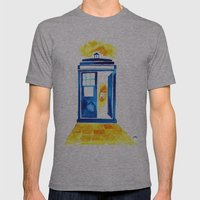 The Doctor of Oz Mens Fitted Tee Athletic Grey SMALL