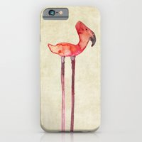 old transmogrified flamingo iPhone 6 Slim Case