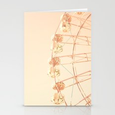 Purple, Pink And Red Go Up Stationery Cards