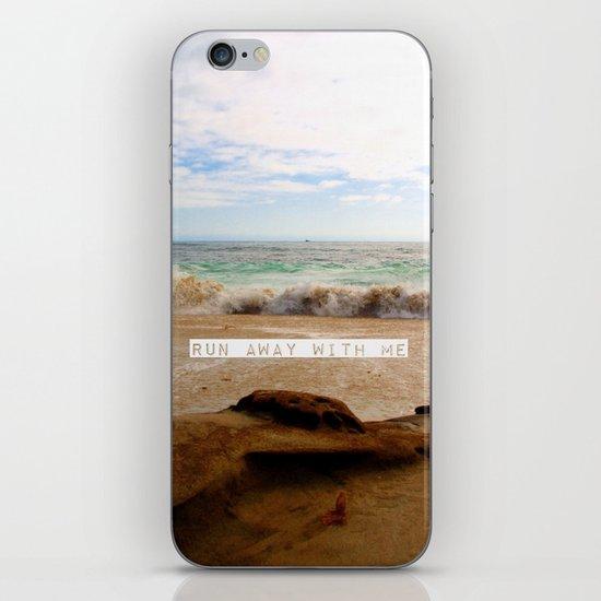 Run Away With Me iPhone & iPod Skin