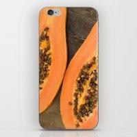 Papaya Fruit iPhone & iPod Skin