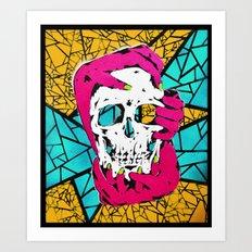 Death Grip #1 Art Print