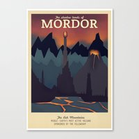 Retro Travel Poster Seri… Canvas Print