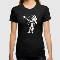 Free Womens Fitted Tee Tri-Black SMALL