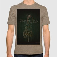 Cause And Effect, My Love Mens Fitted Tee Tri-Coffee SMALL