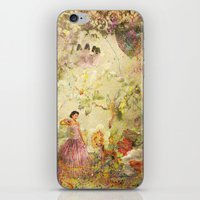 iPhone & iPod Skin featuring dreaming backward by AstridJN