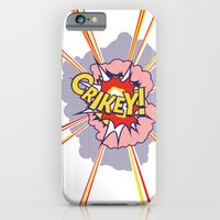 iPhone & iPod Case featuring Crikey Roy! by Pig's Ear Gear