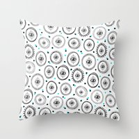 E.Y.E.S. Ii Iii Throw Pillow