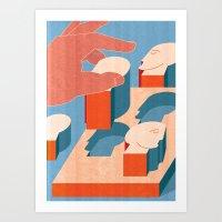 Corporate HR Art Print