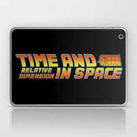 Back To The Doctor Laptop & iPad Skin