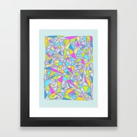 Abstract #001 Framed Art Print