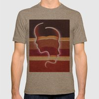 Back To Back Mens Fitted Tee Tri-Coffee SMALL