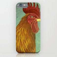 Rooster portrait Slim Case iPhone 6s