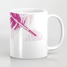 Pink feather Mug