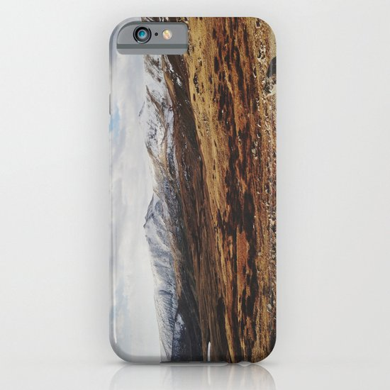 Mosquito Pass Rocky Mountains iPhone & iPod Case