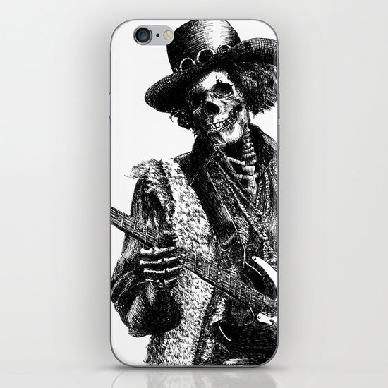 The Legend of Guitarist iPhone & iPod Skin