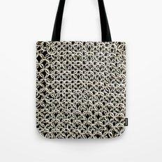 Silver Net Tote Bag