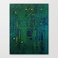 Tao Hacker Canvas Print