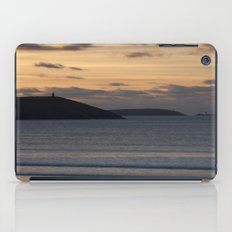 Evening Skies Over Polzeath iPad Case