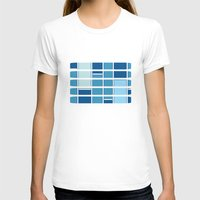 Boxed In Womens Fitted Tee White SMALL